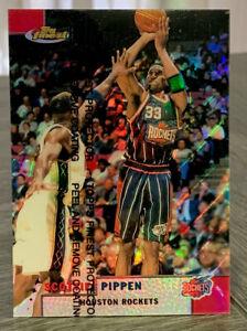 1999 Topps Finest Scottie Pippen Refractor! w/coating #62