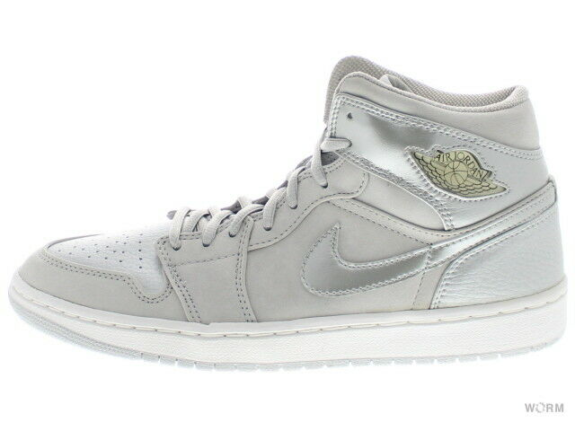 AIR JORDAN 1 RETRO + 136065-001 neutral grey metallic silver 1 Size 8