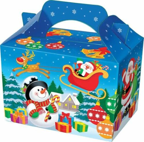 12 x Christmas Party Meal Treat Boxes