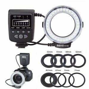 MeikeFC100-Macro-Ring-Flash-Light-for-Canon-Nikon-Olympus-Panasonic-Pentax-camer