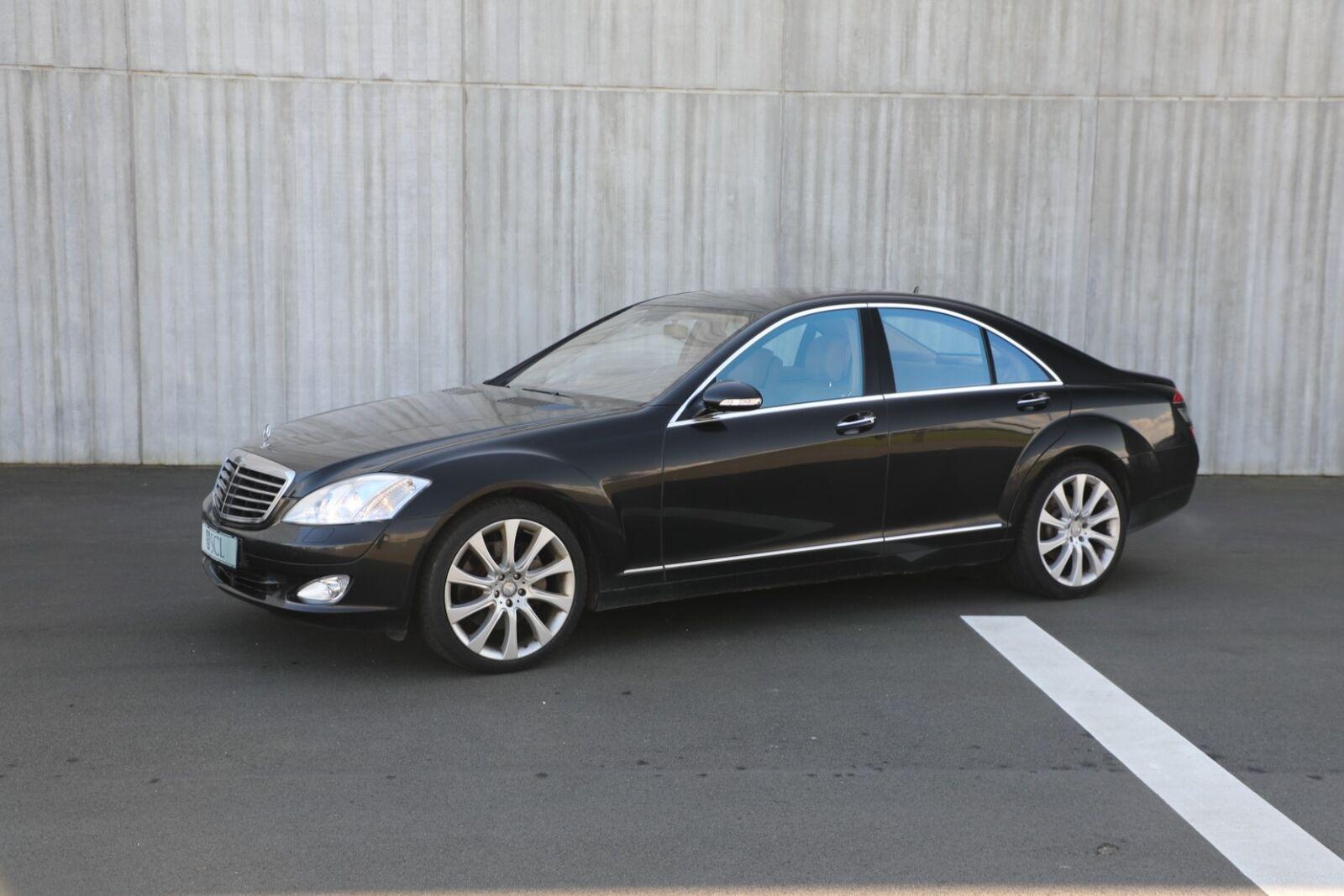 Mercedes S500 5,5 aut. lang 4d - 0 kr.