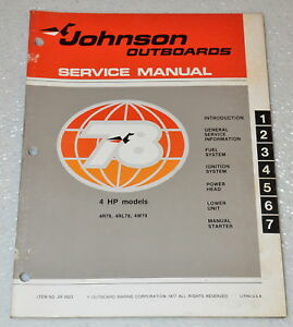 1963 evinrude 3 hp lightwin outboard owners manual pn 205090 565