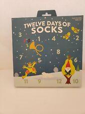12 Days Of Socks Boys Crew Christmas Advent Calendar Size 2-5T