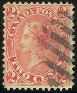 20-2c-1864-Rose-Fault-Free-Used-Single