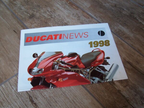 Catalogue / Brochure Ducati News 1998 ( Gamme / Full Line) // Minder Duur