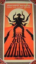 SIX GUN KILLER art movie poster print Bruce Yan 6