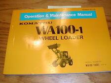Komatsu wa300 1 wheel loader parts book pepb04190102 ebay item 7 komatsu wa100 1 operation maintenance manual wheel loader operator guide book komatsu wa100 1 operation maintenance manual wheel loader operator sciox Gallery