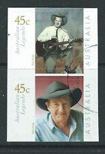 AUSTRALIA 2001 SLIM DUSTY COUNTRY SINGER SELF ADHESIVE FINE USED