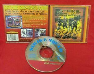 Strike Squad PC Game Disc, Case - Near Mint Discs CD Rom 1993