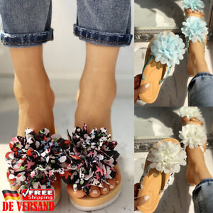 Flache Damen Pantoffeln Rutschfeste günstig kaufen   eBay