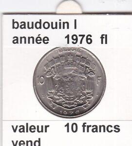 FB-2-pieces-de-10-francs-de-baudouin-I-1976-belgie