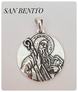 31cbc37e5bb Caricamento dell immagine in corso SAN-BENITO-BENEDICTI-SILVER-PLATA-SAN- BENITO-EXORCISMO-