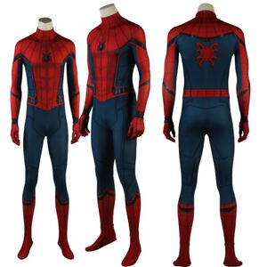 Spider-Man Homecoming Peter Parker Superhero Complete Cosplay Costume