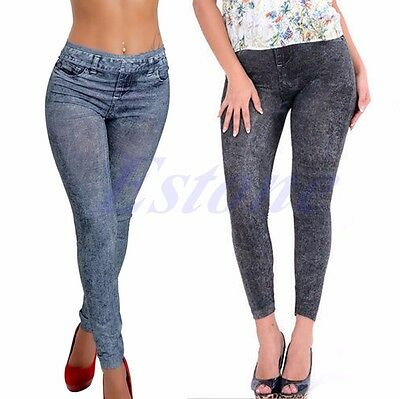 Sexy Women Fashion Jean Skinny Jeggings Stretchy Slim Leggings Skinny Pants
