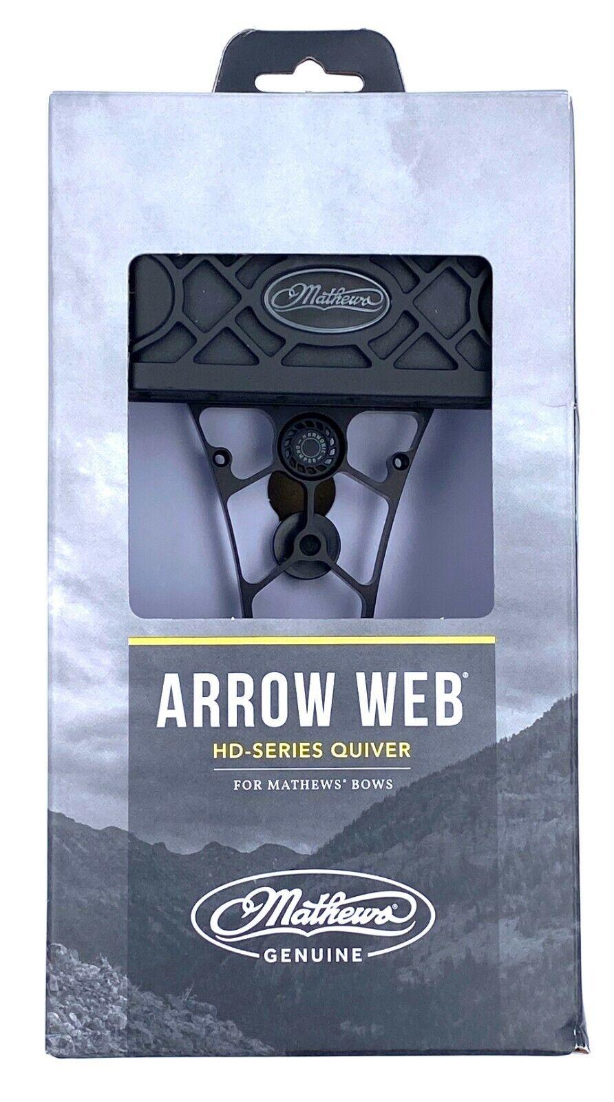 Mathews Arrow Web Lot OTS-80374 UA Forest HD-6 6 Arrow Quiver