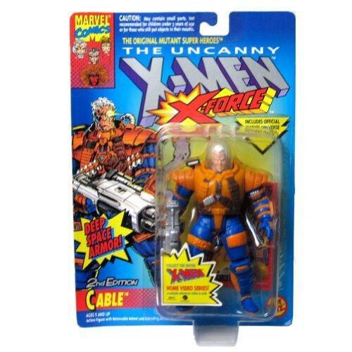 Marvel the Uncanny X-Hommes Cable 2nd Edition Deep Space  Armor Toybiz  magasin d'usine