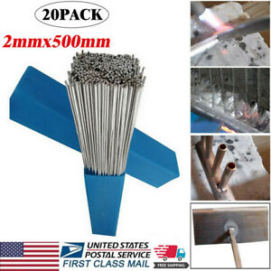 50Pcs New Super Melt Flux Cored Aluminum Easy Solution Welding Rods High Quality