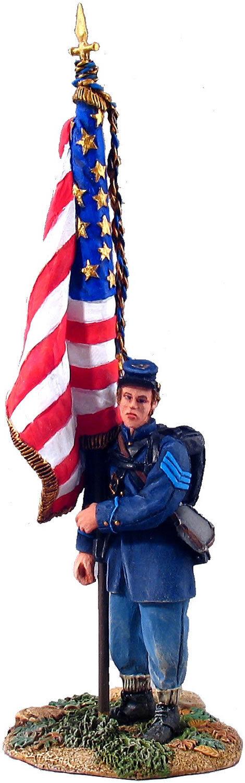 Union Infantry Flagbearer Flagbearer Flagbearer Britains American Civil War 2bcc94
