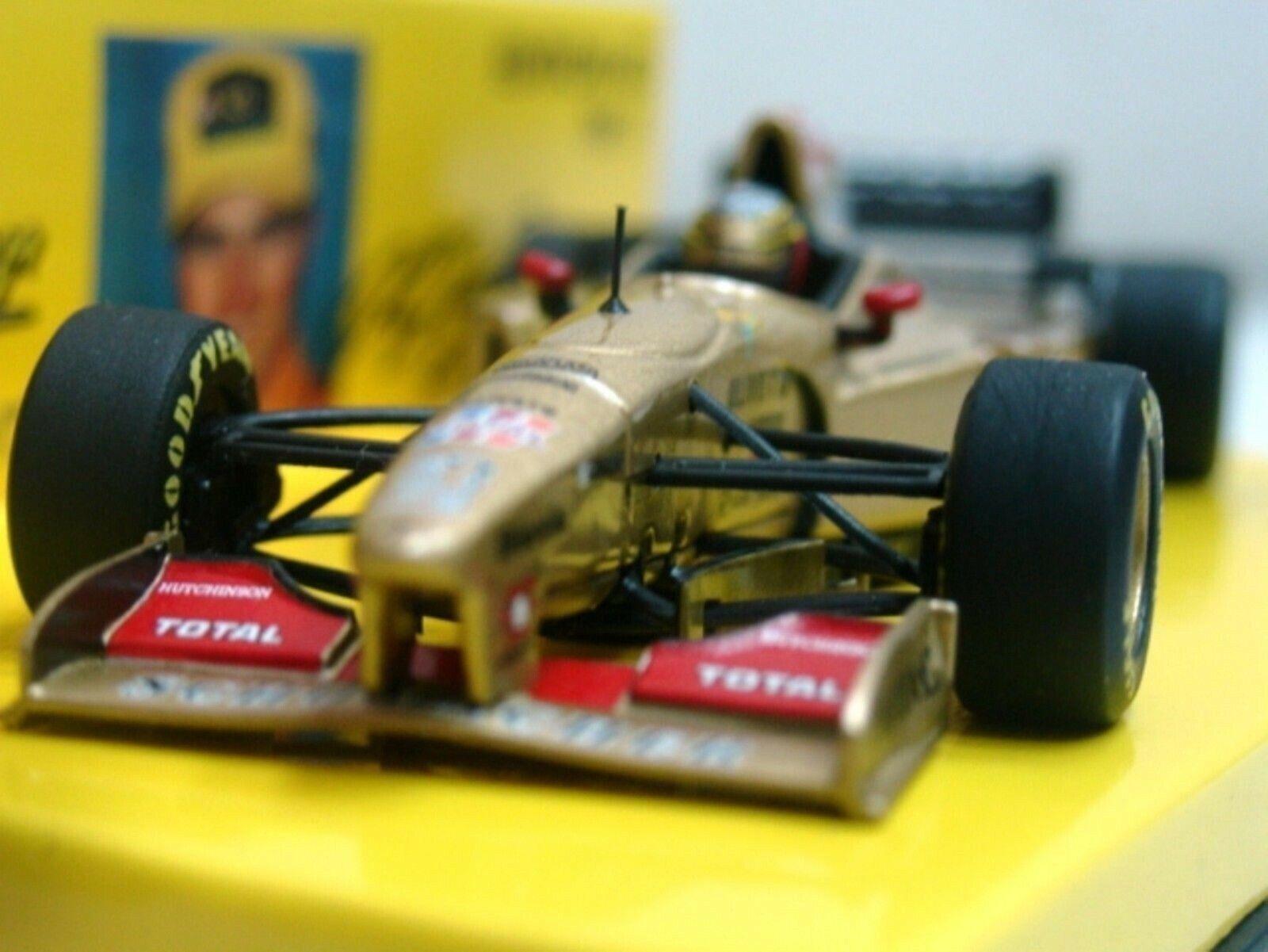 WOW EXTRALY RARE Jordan 196 Peugeot Ralf Schumacher Test 1996 1 43 Minichamps