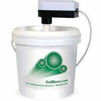 Co2 Boost Bucket & Pump Kit - Hydroponics Natural Co2 Garden Grow Co2boost