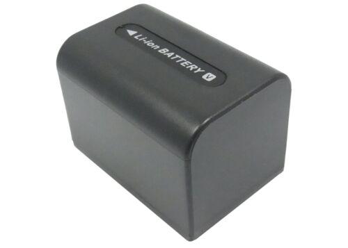Dcr-sr100 E Hdr-cx350vet Premium Batería Para Sony Np-fv70 Dcr-sx44 // E Hdr-ux5