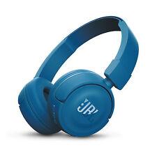 JBL T450BT Pure Bass Sound Bluetooth Wireless On Ear Foldable Headphones Blue