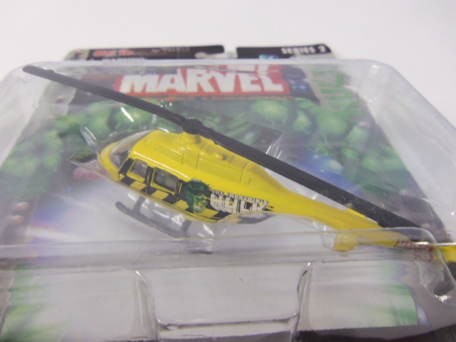 Maisto Ultimate Marvel Air Force Hulk Bell Bell Bell Th-57 Sea Ranger Helicopter Airplane dae8fa