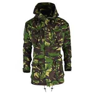 Original-British-army-military-combat-DPM-field-jacket-parka-smock-windproof-NEW
