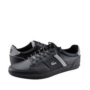 Scarpe-DA-UOMO-LACOSTE-chaymon-318-Fashion-Sneaker-36CAM0008231-NERO-GRIGIO-NUOVO