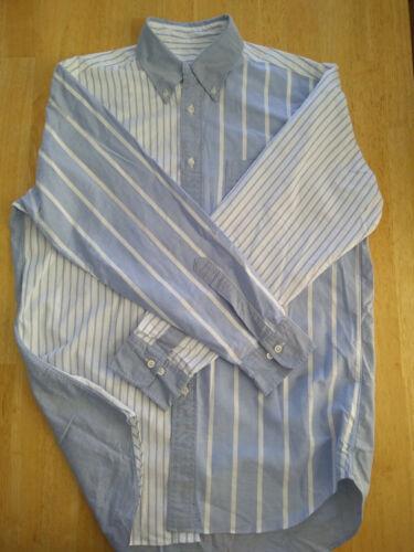 NWOT Brooks Brothers Blue White ButtonDown Fun Shirt M Madison15.5-34 MSRP $140