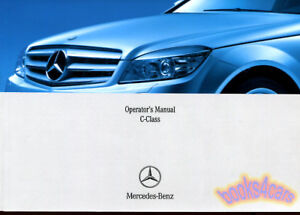 mercedes 2008 owners manual c class book c350 c300 c63 amg c230 rh ebay com 2011 c63 amg service manual 2011 c63 amg owners manual