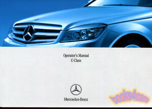 mercedes 2008 owners manual c class book c350 c300 c63 amg c230 rh ebay com c63 owners manual pdf 2008 c63 amg owners manual