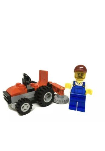 lego city polybag Item 951903 Mini Figure Tractor