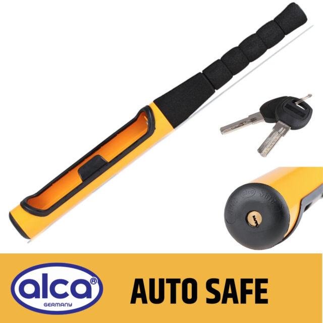 New Anti Theft Baseball Bat Style Steering Wheel Lock Heavy Duty 2 Keys Safety