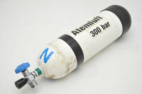 Interspiro 300 bar 6 Liter Tauchflasche Druckgasflasche Atemluftflasche TÜV