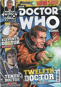 Doctor-Who-Comic-Issue-4-Titan-UK-Tennant-Smith-Capaldi-10th-11th-12th-Doctors
