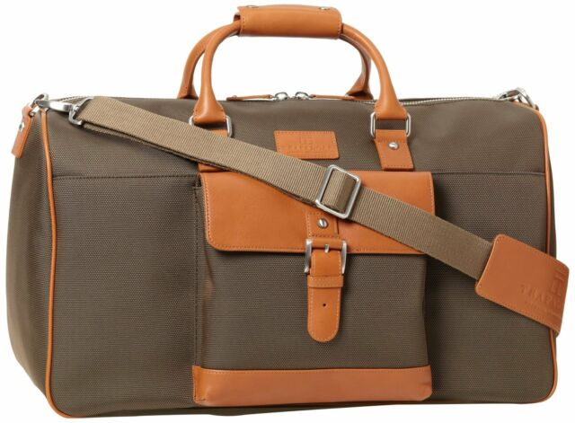 $685 Trafalgar Mens UNISEX Duffel WEEKENDER TRAVEL WORK GYM Bag OLIVE GREEN