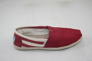 Image is loading WOMEN-039-S-TOMS-CLASSIC-RED-STRIPE-UNIVERSITY- b314b54c9