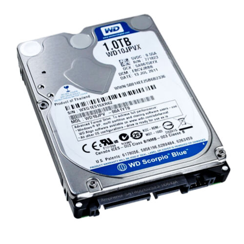 """1TB SATA2 Laptop Hard Drive for PS3 Apple Macbook Pro notebook 2.5/"""" Mobile"""