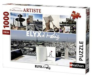 Nathan-87473-Puzzle-1000-Pieces-Elyx-A-Paris