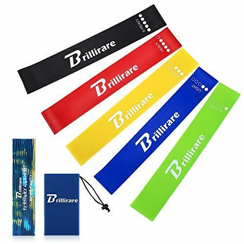 5pc RESISTANCE BANDS Loop Set Exercise Yoga Elastic Fitness Gym Workout Training