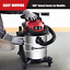 thumbnail 3 - Vacmaster Red Edition VOC508S 1101 Stainless Steel Wet Dry Shop Vacuum 5 Gallon