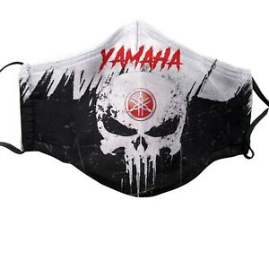 Yamaha Motorcycles Cotton Face Mask Ebay
