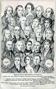 i-Martiri-della-Repubblica-Napoletana-del-1799-Stampa-Antica-Passepartout-1901