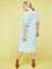 Lane-Bryant-Ruffle-Sleeve-Lace-Swing-Dress-Womens-Plus-16-20-22-Iced-Aqua-1x-2x thumbnail 6