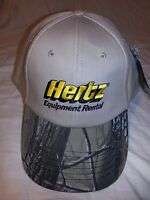 Hertz Equipment Rental Camo Khaki Cap Hat K-products Golf Hunting Tennis