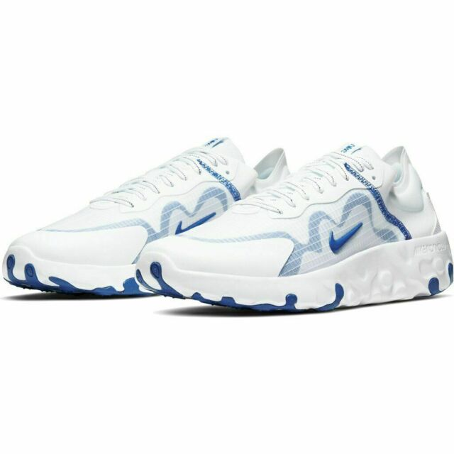 NIKE Renew Lucent Running Men's Shoes White Blue Game royal SIZE 9