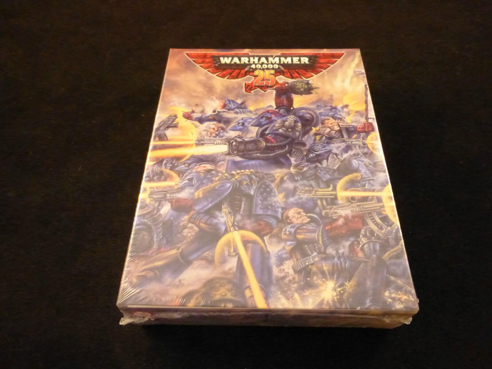 40K 25th Aniversario Edición Limitada puños Rogue Trader Cochemesí Conjunto en caja sellada