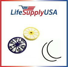 Filter pack fits Dyson DC07 Lifetime DYR-1810, Includes Pre + Post Motor HEPA
