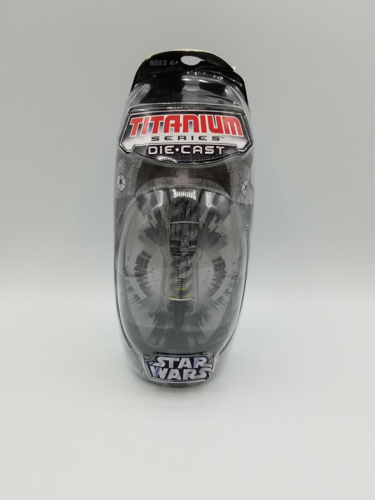 Star Wars Titanium Series Invisible Hand Ship Die-Cast Display Stand Hasbro 2006